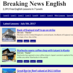 Breaking News The Language Bee